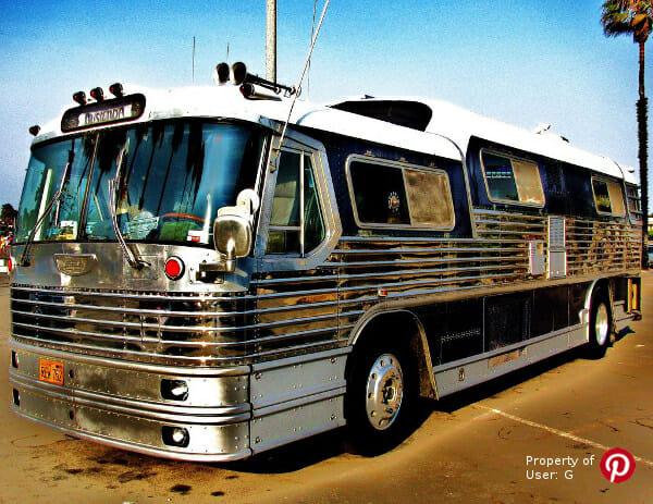 tour bus, elvis