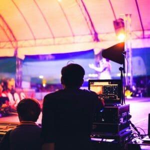 palco stage regia fonico sound engineer foh