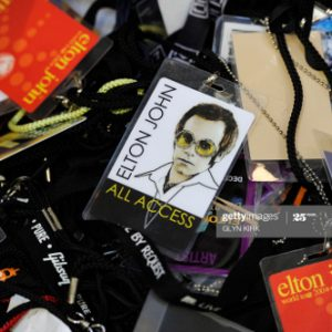 AAA access all areas pass touring