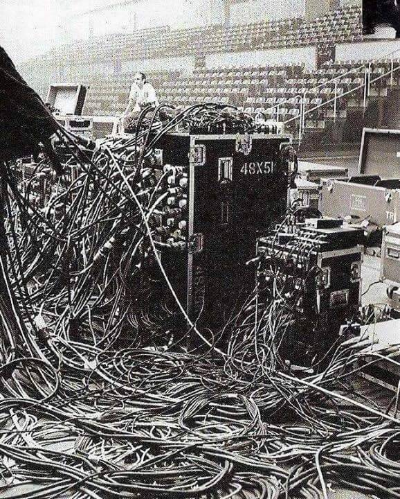 woodstock 1969 cables