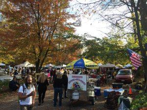 woodstock autumn Flea market