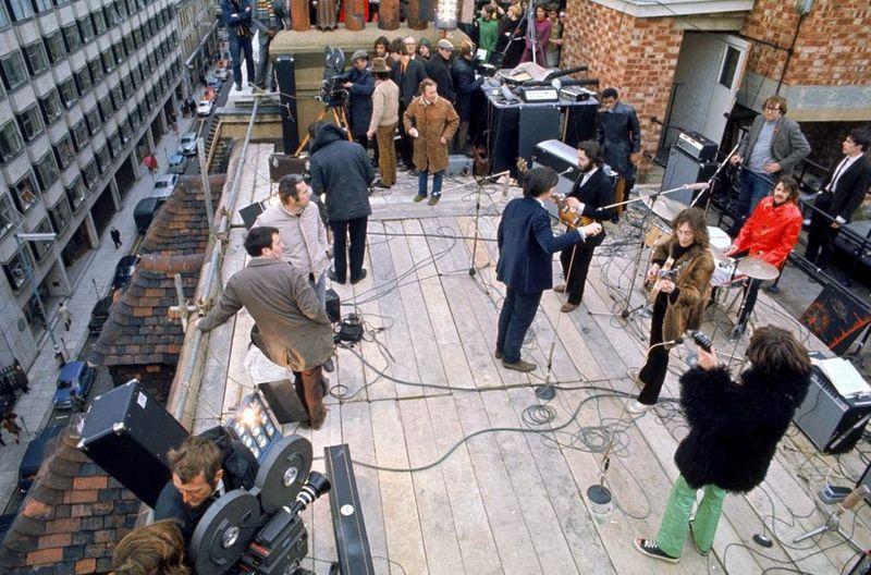 beatles rooftop concert concerto tetto 1969