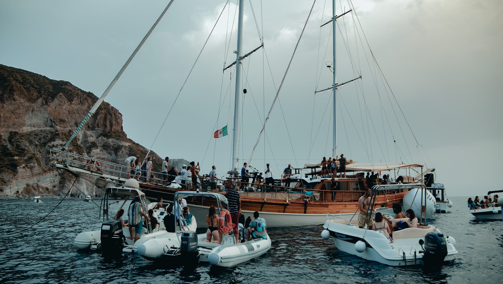 eolie music fest boat party festival